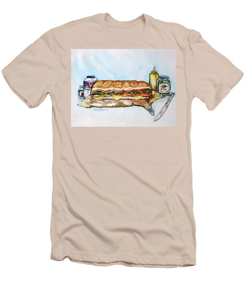 Big Ol Samich Men's T-Shirt (Athletic Fit)