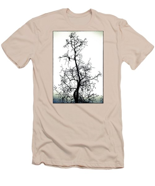 Bird In The Branches Men's T-Shirt (Athletic Fit)