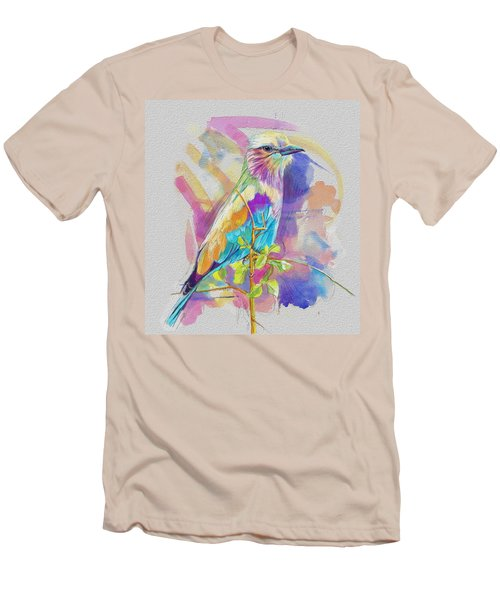 Bird On A Twig Men's T-Shirt (Athletic Fit)