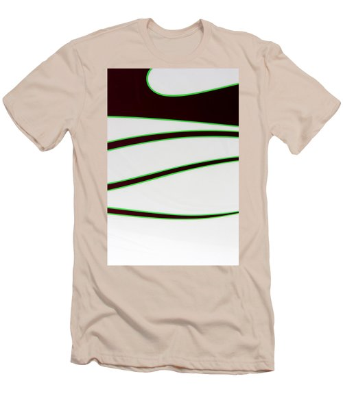 Men's T-Shirt (Slim Fit) featuring the photograph Black And Green by Joe Kozlowski