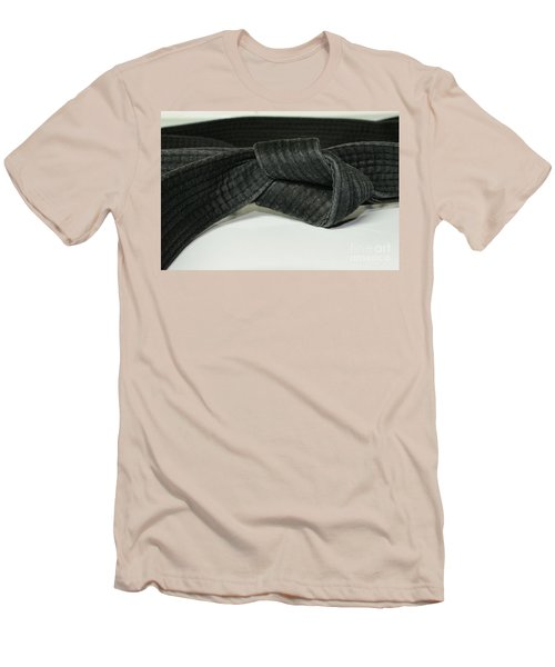 Black Belt Men's T-Shirt (Athletic Fit)