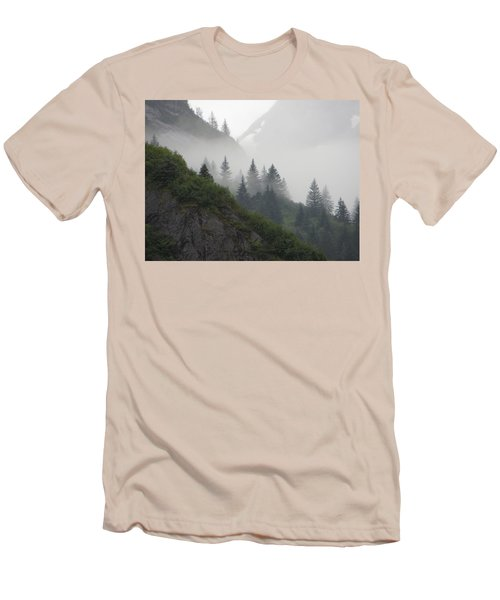 Blanket Of Fog Men's T-Shirt (Slim Fit) by Jennifer Wheatley Wolf