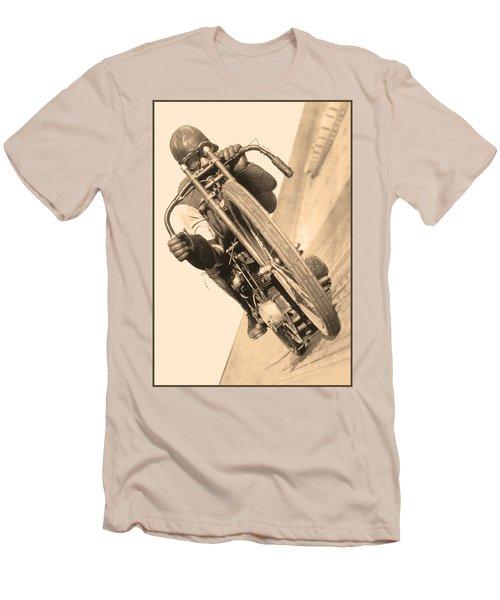 Board Track Racer Men's T-Shirt (Athletic Fit)