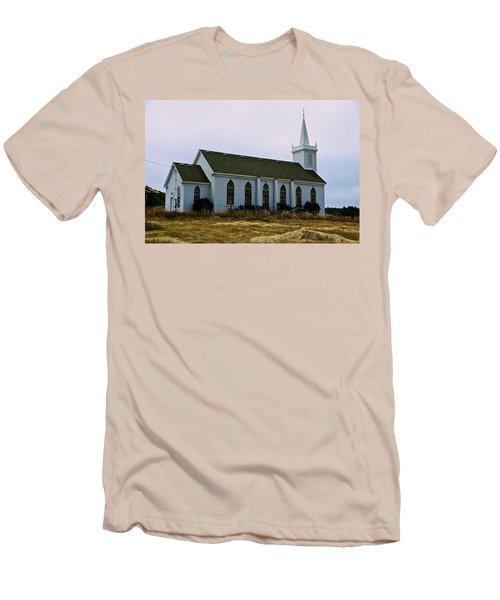 Bodega Church Men's T-Shirt (Slim Fit) by Eric Tressler