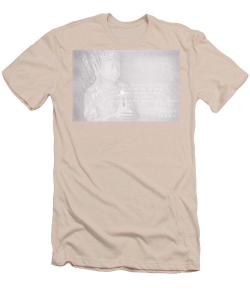 Bodhisattva Men's T-Shirt (Slim Fit) by Sharon Mau