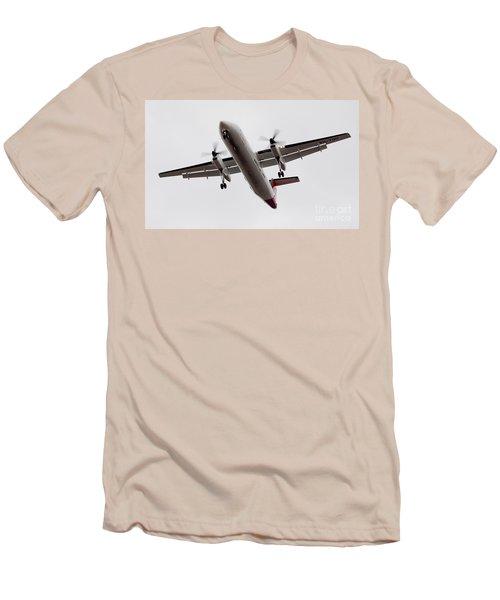 Bombardier Dhc 8 Men's T-Shirt (Athletic Fit)