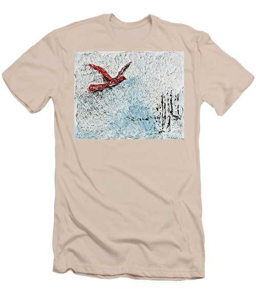 Bound To Fly Men's T-Shirt (Slim Fit) by Alys Caviness-Gober