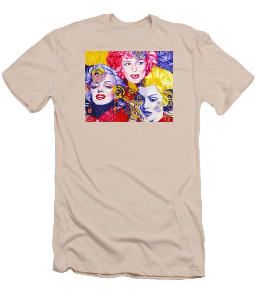 Bouquet Of Marilyn Men's T-Shirt (Athletic Fit)