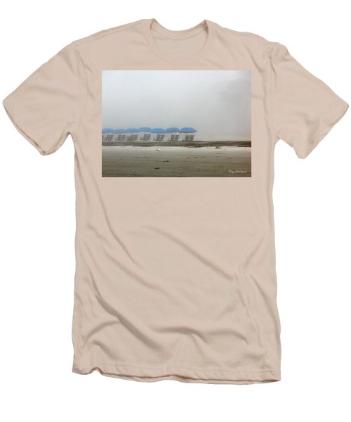 Men's T-Shirt (Slim Fit) featuring the photograph 'brella Pattern by Kay Lovingood
