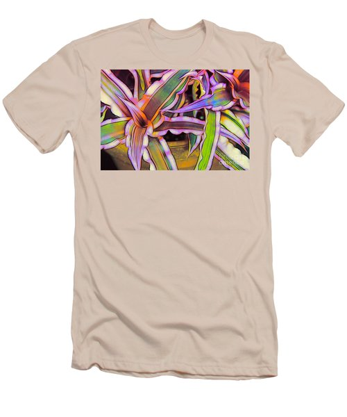 Bromeliads Men's T-Shirt (Athletic Fit)