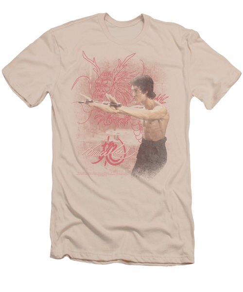 Bruce Lee - Power Of The Dragon Men's T-Shirt (Athletic Fit)