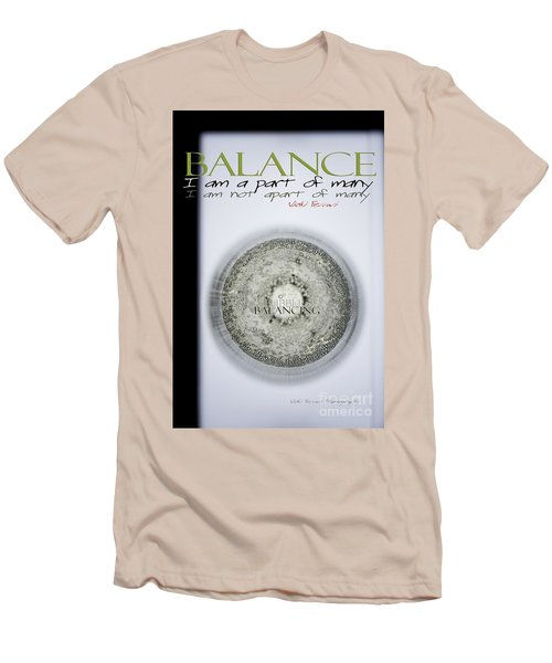 Bubbles Balance Bubbles Men's T-Shirt (Athletic Fit)