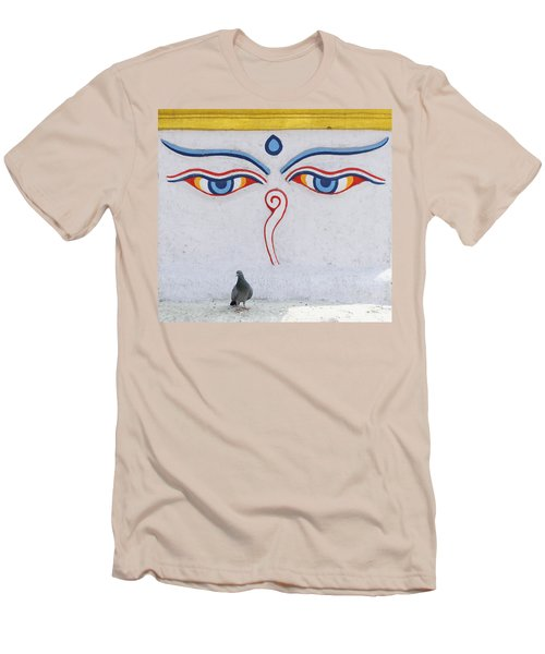 Buddha Eyes Men's T-Shirt (Athletic Fit)