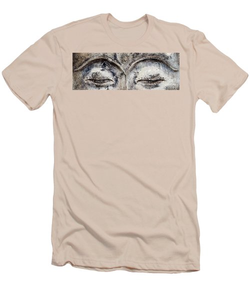 Men's T-Shirt (Slim Fit) featuring the photograph Buddha Eyes by Roselynne Broussard