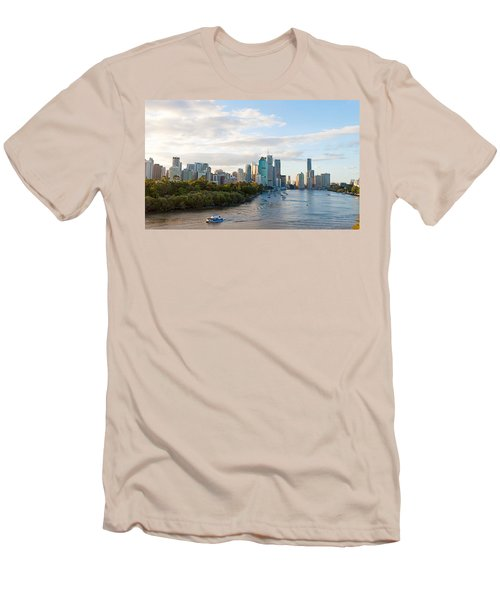 Buildings At The Waterfront, Brisbane Men's T-Shirt (Athletic Fit)