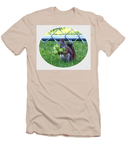 Men's T-Shirt (Athletic Fit) featuring the photograph Busted by Will Borden