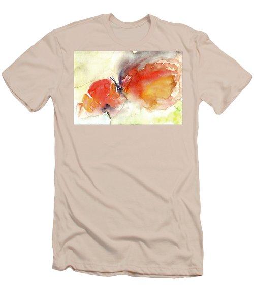 Butterfly Men's T-Shirt (Slim Fit) by Faruk Koksal