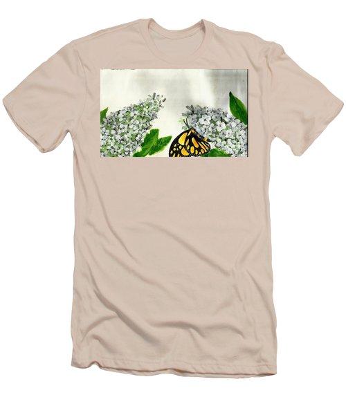 Butterfly Men's T-Shirt (Slim Fit)