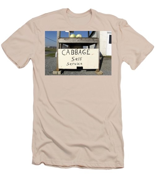 Cabbage Self Service Men's T-Shirt (Athletic Fit)