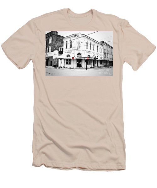 Cajun Corner Cafe Men's T-Shirt (Athletic Fit)