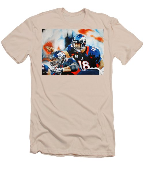 Peyton Manning Men's T-Shirt (Athletic Fit)