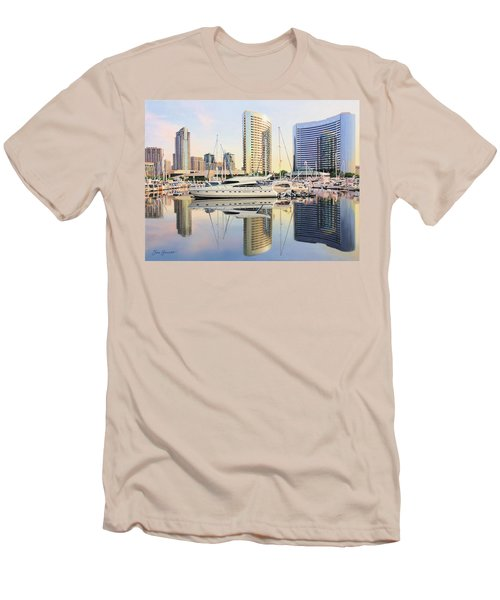 Calm Summer Morning Men's T-Shirt (Athletic Fit)