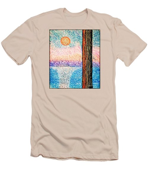 Carmel Highlands Sunset Men's T-Shirt (Slim Fit) by Joseph J Stevens