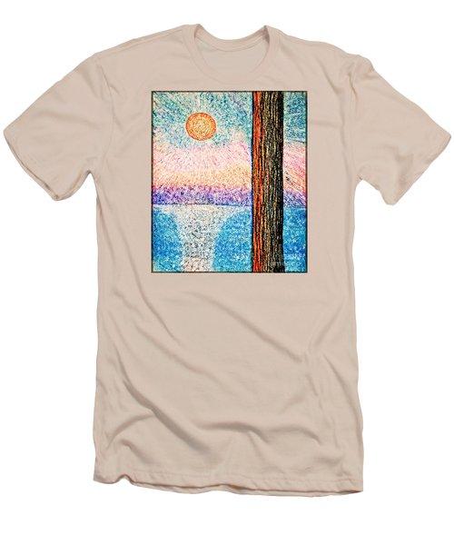 Carmel Highlands Sunset Men's T-Shirt (Athletic Fit)