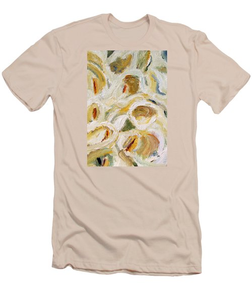 Cascade Of Calla Lillies Men's T-Shirt (Slim Fit) by Michael Helfen