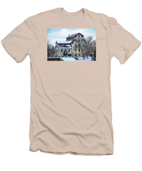 Cedarburg Mill Men's T-Shirt (Slim Fit) by Susan  McMenamin