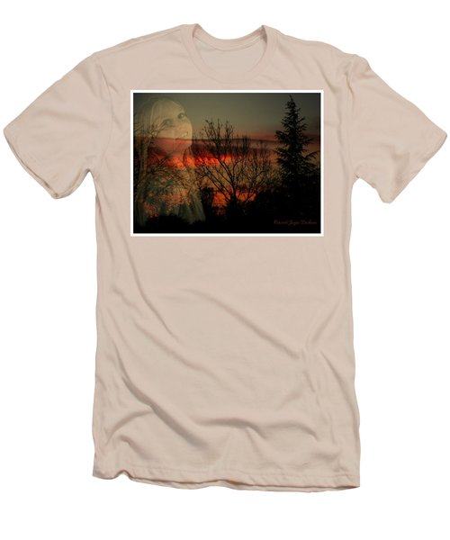 Men's T-Shirt (Slim Fit) featuring the photograph Celebrate Life by Joyce Dickens