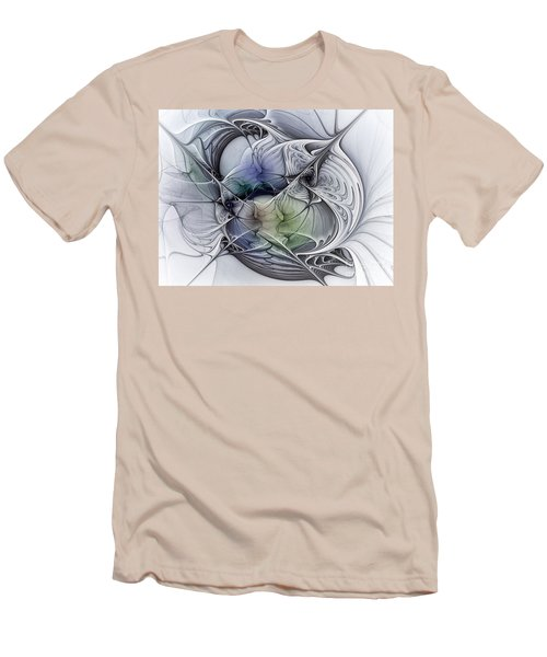 Celestial Sphere Abstract Art Men's T-Shirt (Athletic Fit)