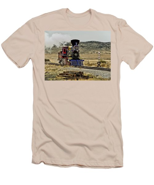 Men's T-Shirt (Slim Fit) featuring the photograph Central Pacific's Jupiter by David Lawson