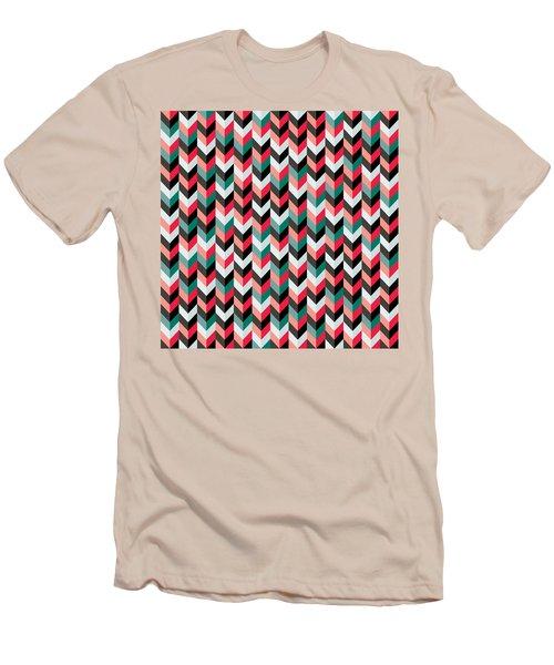 Chevron Men's T-Shirt (Athletic Fit)