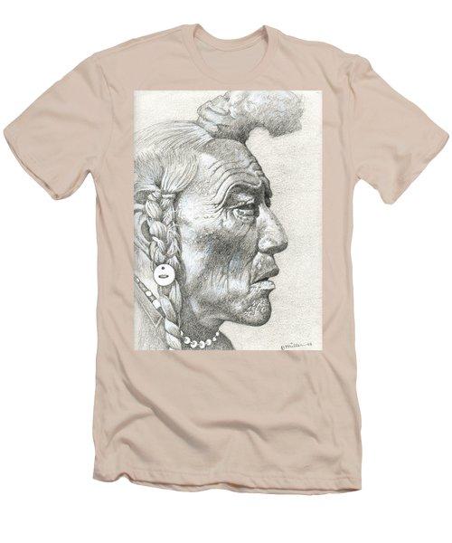 Cheyenne Medicine Man Men's T-Shirt (Athletic Fit)