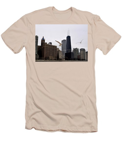 Chicago Birds 2 Men's T-Shirt (Athletic Fit)