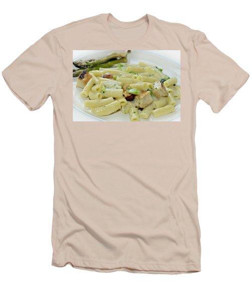 Chicken Alfredo Meal Men's T-Shirt (Athletic Fit)