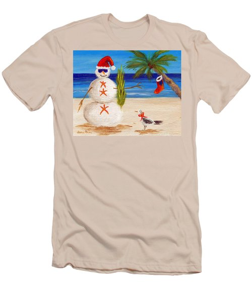 Christmas Sandman Men's T-Shirt (Athletic Fit)