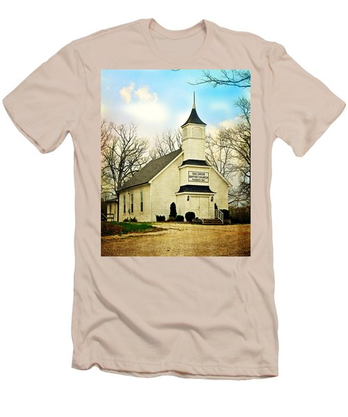 Men's T-Shirt (Slim Fit) featuring the photograph Church 12 by Marty Koch