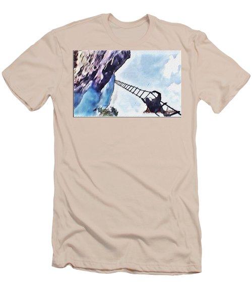 Climb Men's T-Shirt (Athletic Fit)