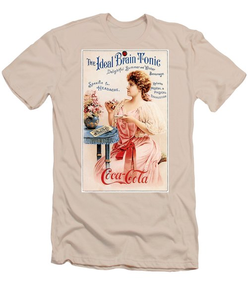 Coca-cola - The Ideal Brain Tonic Men's T-Shirt (Slim Fit) by Gianfranco Weiss