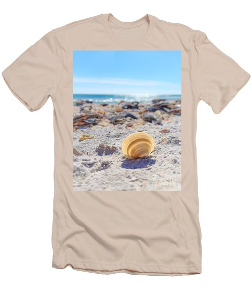 Cockle Shell Summer At Sanibel Men's T-Shirt (Athletic Fit)