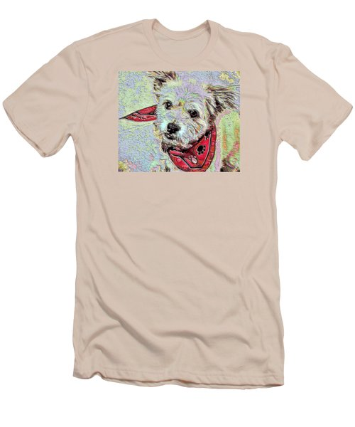 Cocoa On The Poster Men's T-Shirt (Slim Fit) by Vickie G Buccini