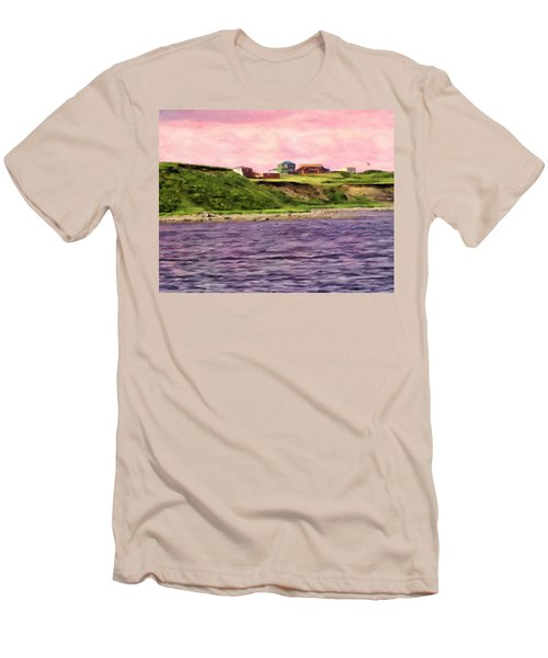 Cold Bay From The Dock Men's T-Shirt (Athletic Fit)