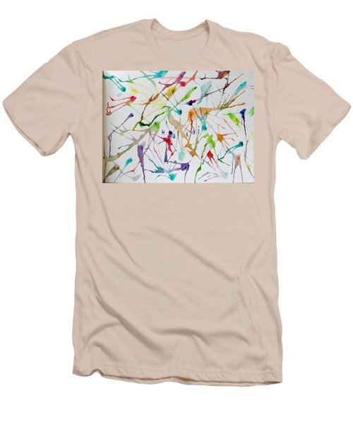 Colourful Holi Men's T-Shirt (Athletic Fit)