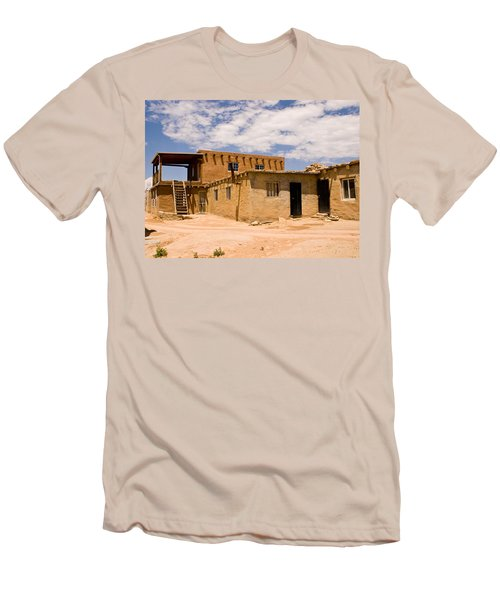 Acoma Pueblo Home Men's T-Shirt (Athletic Fit)