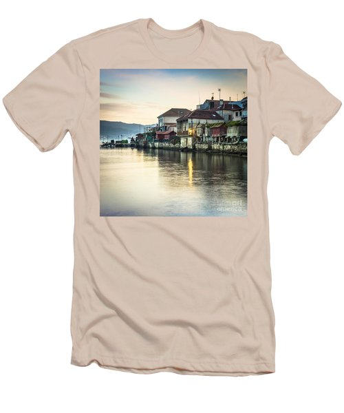 Combarro Pontevedra Galicia Spain Men's T-Shirt (Athletic Fit)