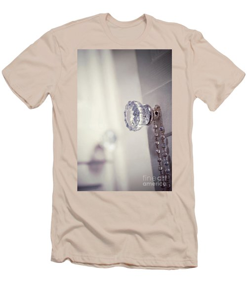 Men's T-Shirt (Slim Fit) featuring the photograph Come Early Morning by Trish Mistric