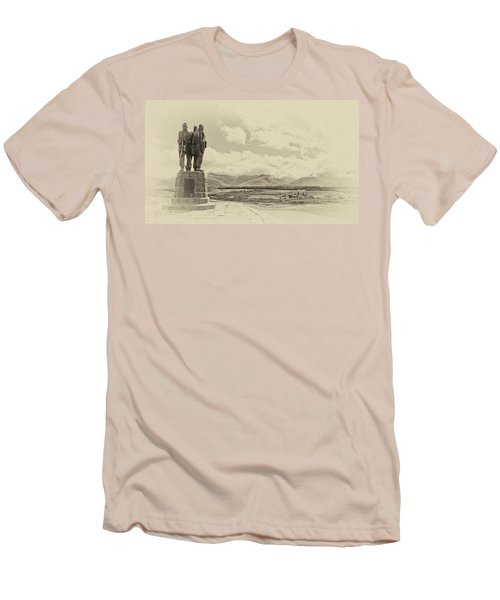Commando Memorial 3 Men's T-Shirt (Athletic Fit)