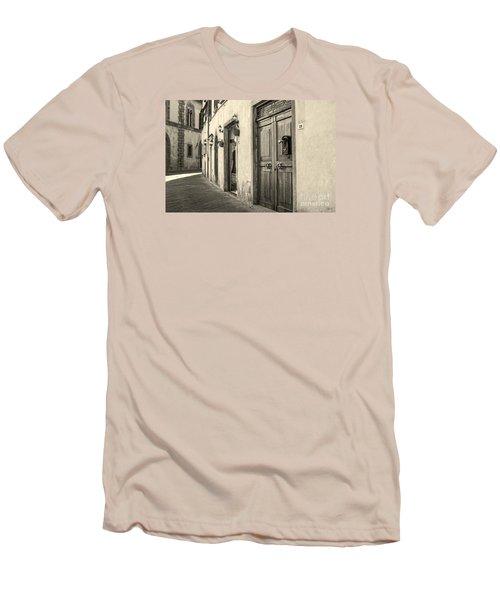 Corner Of Volterra Men's T-Shirt (Athletic Fit)
